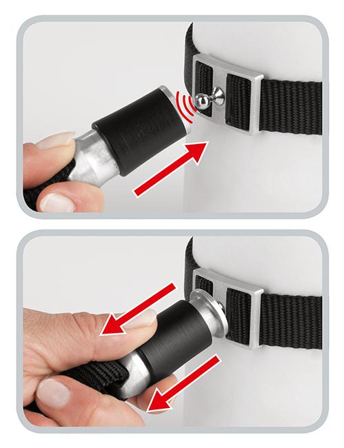 Funktionsweise des innovativen Magnet-Rast-Verschlusses von GOLEYGO