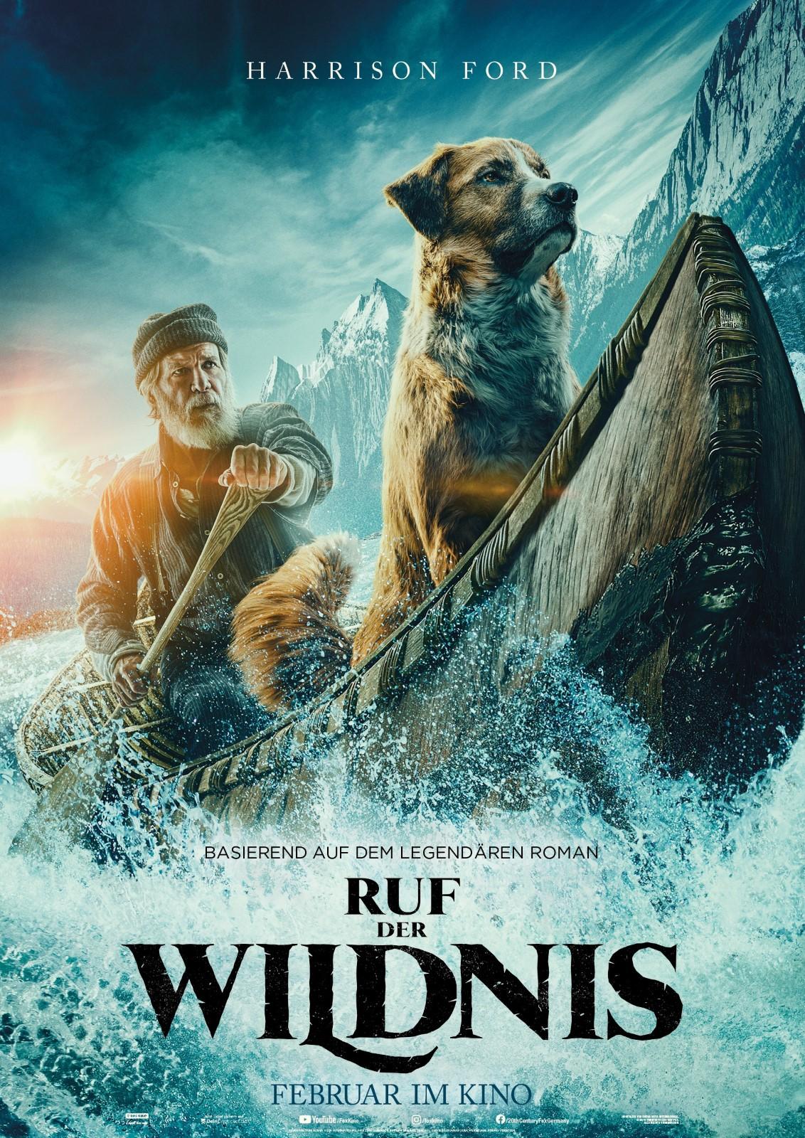 """Filmplakat """"Ruf der Wildnis"""""""